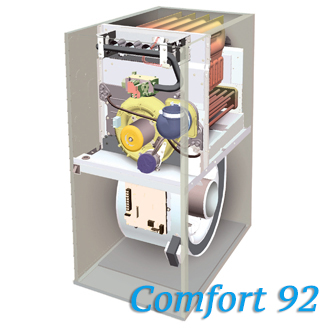 Carrier comfort 92 gas furnace hvac contractor dan 39 s air for Carrier comfort 92 inducer motor