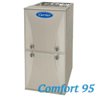 Carrier Comfort Gas Furnaces Hvac Contractor Dan S Air